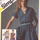 Simplicity 5583 (1982) Dress Culotte Jumper Pattern Size 14 UNCUT