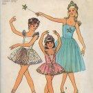 Simplicity 7160 (1975) Vintage Childs Girls Ballet Costume Dress Panties Pattern Size 10 UNCUT