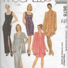 McCalls 9678 (1998) Sleeveless Dress Jacket Pattern Plus Size 18W 20W 22W 36 38 40 UNCUT