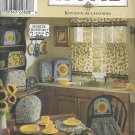 Simplicity 8693 (1999) Kitchen Curtain Apron Potholder Appliance Cover Placemat Etc Pattern UNCUT