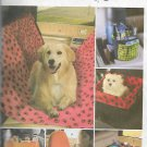 McCalls 5209 (2009) Car Auto Pet Carrier Seat Cover Cup Organizer Pattern UNCUT