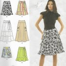 Simplicity 2655 (2009) Misses Petite Skirt Length Detail Variations Pattern Size 8 10 12 14 16 UNCUT