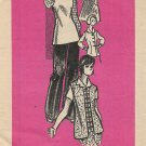 Vintage Printed Pattern 9201 Mail Order Blouse Dress Tunic Jacket Pants Size 10 CUT