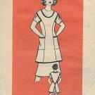 Vintage Printed Pattern Mail Order 9163 Cobblers Apron Size Large UNCUT