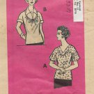 Vintage Mail Order Printed Pattern 9138 Top Blouse Shirt  Size 20 1/2 UNCUT