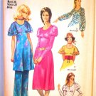 Simplicity 9356 (1971) Vintage Dress Pants Pattern Size 14 UNCUT