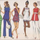 Simplicity 9408 (1971) Vintage Tunic Shorts Pants Top Pattern Size 10 CUT