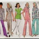 Simplicity 5016 (1972) Vintage Pants Tunic Top Belt Pattern Size 10 CUT