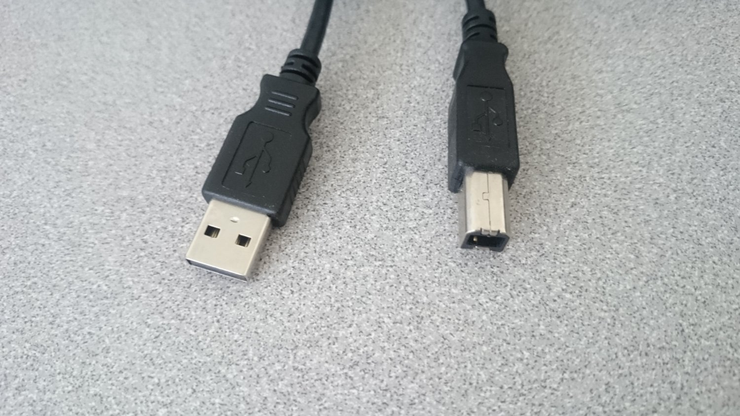 6ft USB 2.0 Printer Scanner Cable Cord Black A Male to B Male HP Canon Epson