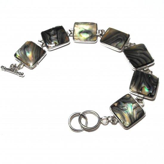 Abalone Square Seashell Bracelet