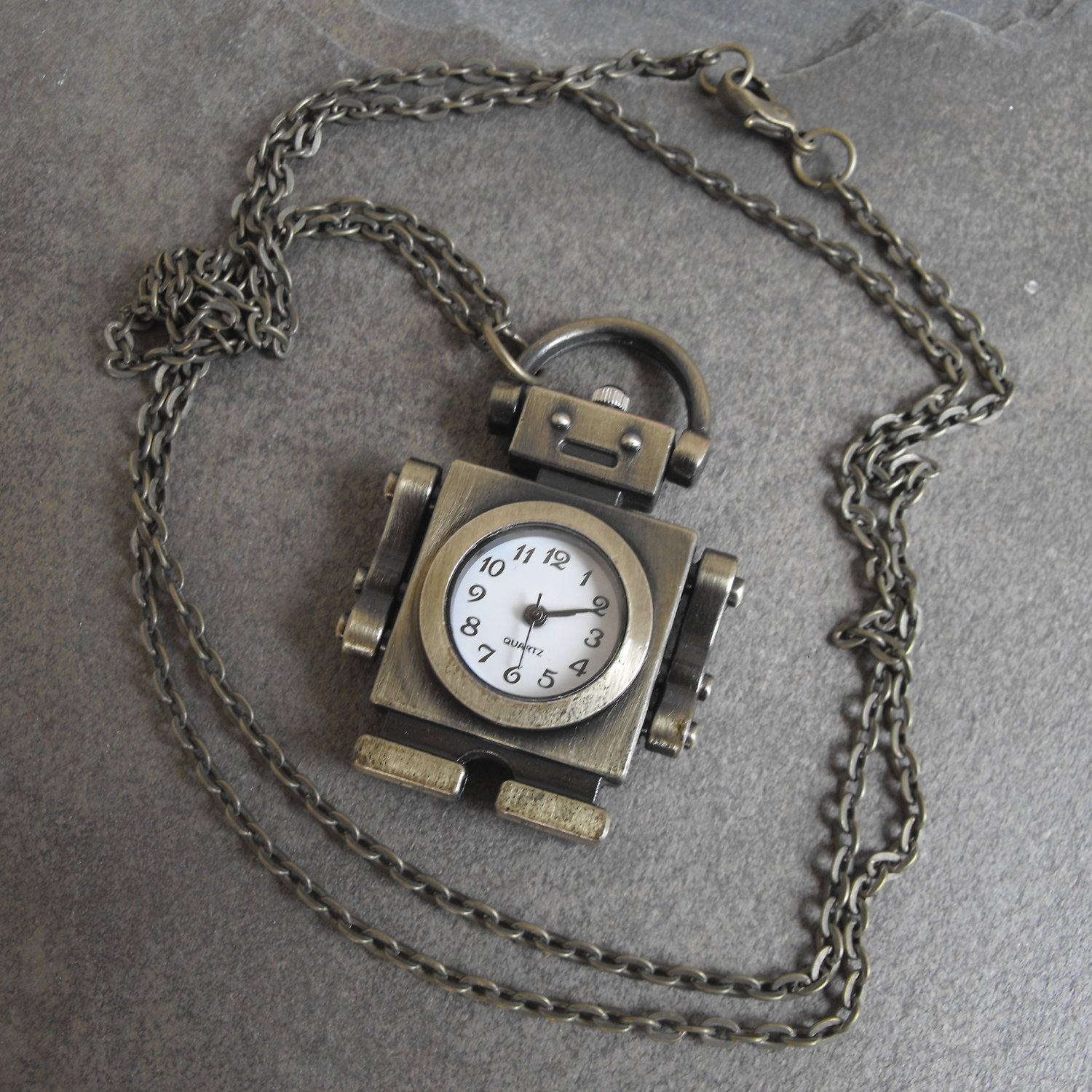 Robot Necklace Watch