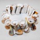 Spiral Seashell Bracelet