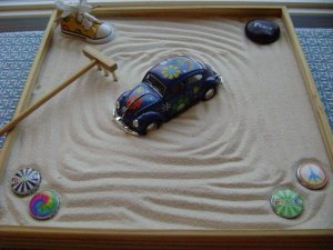 PEACE 1 FOOT BY 1 FOOT Zen Garden