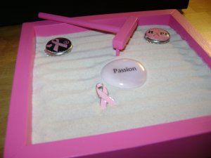 Breast Cancer Awareness 6 inch by 6 inch Garden