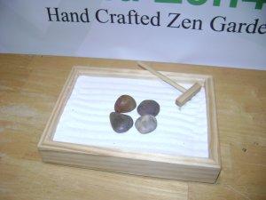 """6"""" by 8"""" Zen Garden ."""