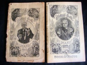 1918 & 1923 Velvet Joe's Almanac