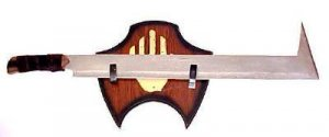 Orc Sword and Plaque