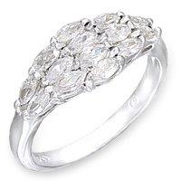 14 Stone Anniversary CZ Ring (A50204)