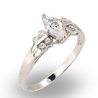 Marquise CZ Ring (A30324)
