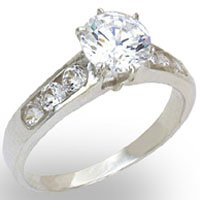 Solitaire CZ Ring (A20411)