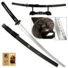 """41"""" Last Samurai Movie Sword with Scabbard Bushido Code Battle Inscription"""