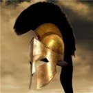 King Leonidas 300 Movie Helmet Spartan Greek Collectible COA