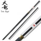 "Tenryu Samurai Hand-Forged 40"" Sword with Scabbard Collectible"