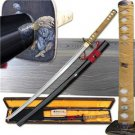 "Samurai Hand Forged 41"" Sword Katana with Scabbard Collectible"