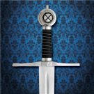 "King of Scotland Robert the Bruce 44"" Sword with Scabbard Collectible"