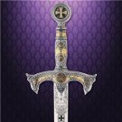 "The Templar Knights Sword 46"" Sword by Marto of Spain Medieval Collectible"