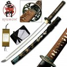 "Year of the Dragon Ryumon Samurai 33"" Sword with Scabbard Collectible"