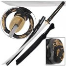 "Dragon King Traditional Japanese Katana 42"" Sword with Scabbard Collectible"
