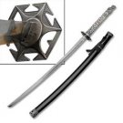 "Highlander Sword 41.5"" Tang Dragon Steel Katana Sword Collectible"
