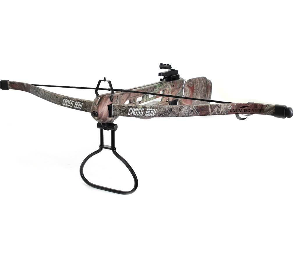 150lb  Hunting Camo Camouflage Crossbow Archery Cross bow with Arrows