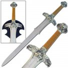 "Conan the Barbarian Sword 39"" with Plaque Decorative Collectible"