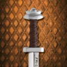 "Viking Long Seax Sword 29"" Replica with Leather Sheath"