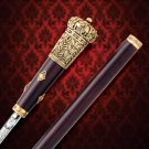 "1880s On Her Majesty's Service 38.5"" Replica Sword Cane"