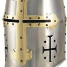 Templar Knight Great Helm Helmet by Marto of Spain Officially Licensed