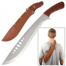 """Book of Eli 21"""" Machete Sword with Faux Leather Sheath Collectible"""