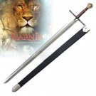 """Chronicles of Narnia Prince Peter 48"""" Sword with Scabbard Collectible"""