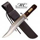 "The Alamo Jim Bowie 17"" Bowie Knife with Leather Sheath - MC Special Edition Collectible"