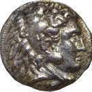 336-323 BC Macedonian King Alexander the Great Silver Tetradrachm Coin