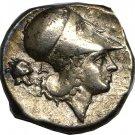 350-300 BC Greek Corinth Pegasus Athena Silver Stater Coin