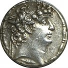 93-83 BC Syrian Seleucid Kingdom Silver Tetradrachm Coin of Philip I