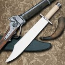 Old West Texas Bowie Knife with Sheath by Windlass Steelcrafts