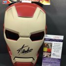 Stan Lee Marvel Comics Autographed Signed Iron Man Mask JSA COA
