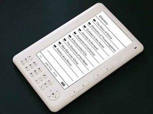 7 inch  ebook reader+720P mp4