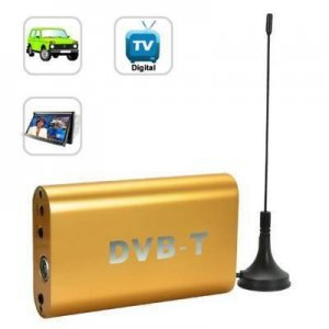 Car DVB-T receiver with PVR Support 250KM/H