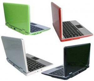 7 inch Classic mini laptop Netbooks & UMPC