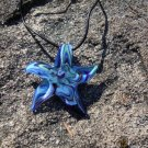 Blue Starfish Necklace